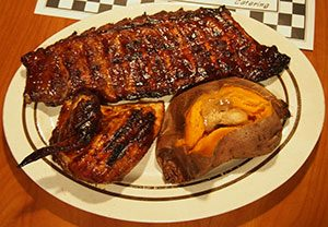 ribs and bbq in franklin waynesville